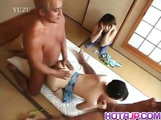 Tomomi Suck And Ride Two Dongs So Fine