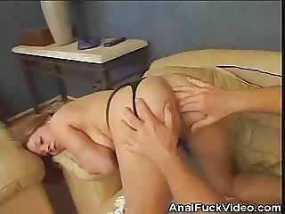 Army Chick Bends For Anal Fucking