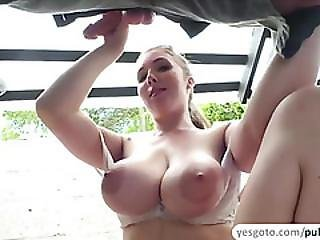Hot Lena Paul Fucks A Guy With A Big Cock For Cash