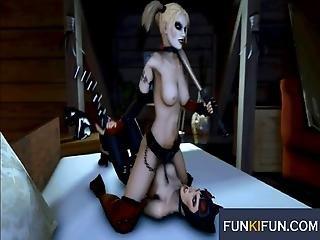 Batman Harley Quinn 3d Sex Compilation Part 8