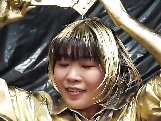 Japanese Gold Girl