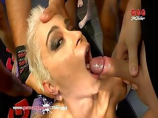 Nasty Mila Milan Double Penetrated And Creamed - German Goo Girls