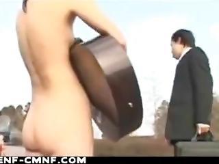 Japanese Public Nude Girls
