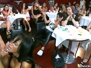 Public Party Cumshots Compilation Part 1