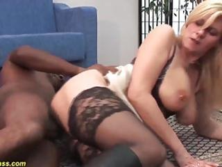 Mom Ass Destroyed By A Black Monster Cock