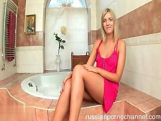 Cute Russian Girl Fucked By Big Cock