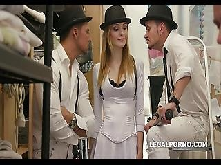 Ria Sunn Fucks The Clockwork Gang.100 Anal Big Swallow