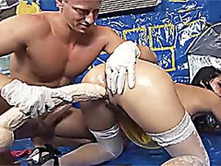 Teens First Extreme Anal Lesson