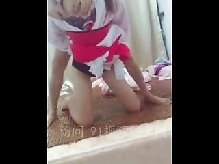 Hot Chinese Lady Seduces Her Husband To Creampie Her 1/4
