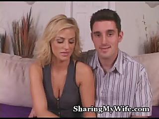 Hot Wife Has Juicy Pussy Fucked