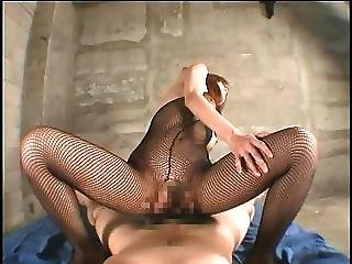 Fishnet Beauty Fuck