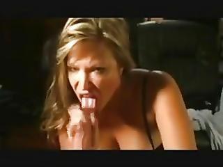 素人, ブロンド, フェラチオ, 精液, 精液を飲み込む, ディープスロート, 手淫, ハウス, ハウスワイフ, 飲み込む, 妻