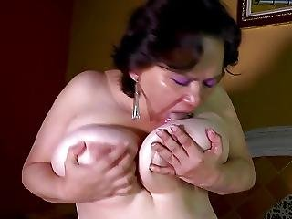 Busty Granny With Hungry Ass And Pussy