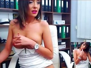 Ladytaniaa - Riding Mature Posing Topless - Live Paid Webcam (k5)