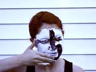 Paint Smeared All Over Her Face Again