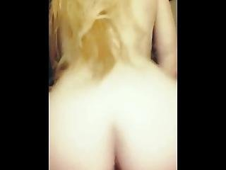 Blonde College Girl Rides My Dick In The Dorm In Texas