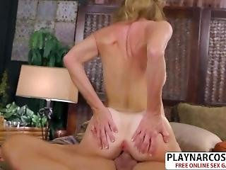 Salacious Mom Denise Day Gives Blowjob Hot Tender Friend