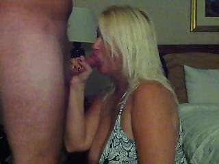 Sucking Away In A Hotel Room...