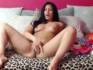 18 Adorable Teenager With Angel Face Squirting Wet Pussy