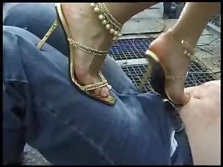 High Heel Trampling
