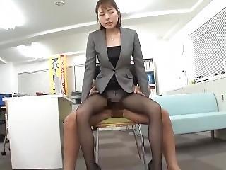 Pantyhose Lady