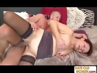 Grandma Wakes Me And Suck My Cock