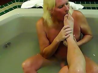 Amateur, Cumshot, Feet, Fetish, Foot, Footjob, Mature, Mistress, Worship