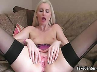 Black Stockings Milf Assfucked On Casting