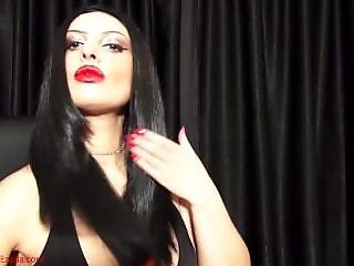Mistress Ezada Brushing Her Hair