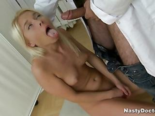Sweet Blondie Got Her Ass Smashed