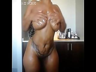 Cherokee Oiling Body Nude