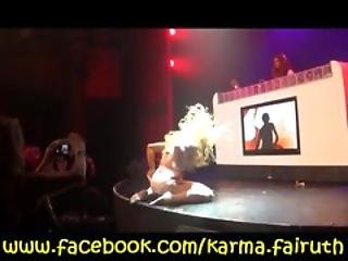 Sexy Drag Queen Karma Fairuth Performing In Las Vegas
