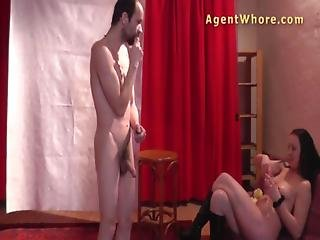 Amateur, Backstage, Brunette, Casting, Czech, Dancing, Fingering, Masturbation, Milf, Pussy, Shy, Teasing, Wife, Wild