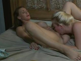 Naughty-hotties.net - Experienced Milf Teaching Blonde Teen