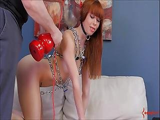 Redhead Slut Alexa Nova Face Fucked And Choked