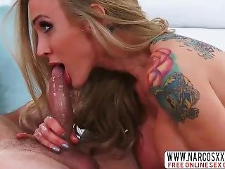 Domineering Mom Sarah Jessie Likes Hard-core Dick