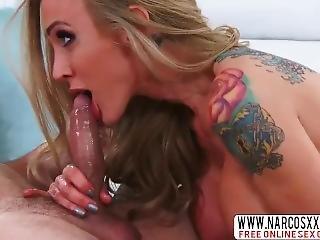 Domineering Mom Sarah Jessie Likes Hard-core Dick