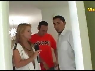 Jenny Scordamaglia Interviews Some Horny Guys