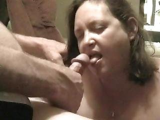 Wife Gets Mouth Fucked In Motel