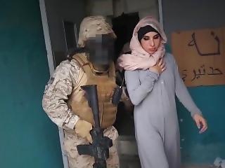 americaans, arabish, pijp, kontje, hardcore, hoer, soldaat