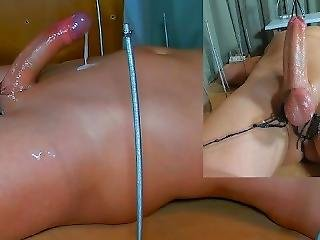 Amateur Femdom Cfnm Edging Handjob. Waxed His Bound Balls. Triple Ruined Orgasm. Post Orgasm Torture