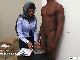 Mia Khalifa - Black Vs White Dick