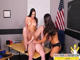 Terrible Mother In Law Ava Addams And Rachel Starr Teacher In Threesome