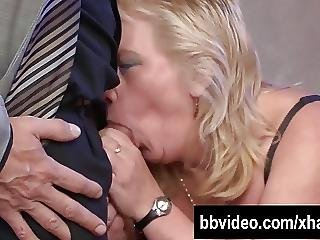 Fat German Whore Gets Nailed On The Stairs