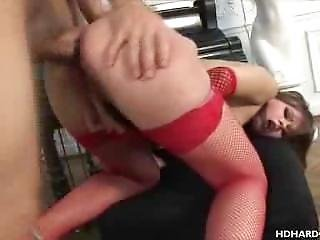 Butt Busting And Cumshots By The Piano