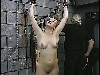 Sexy Submissive Blonde Gets Her Nipples Tortured Then Fucked By Her Dom