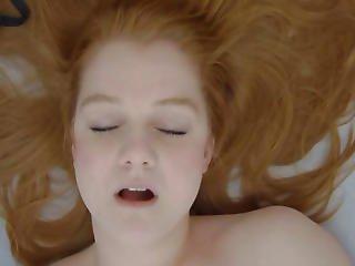Youthful Redhead Beauty Real Masturbation