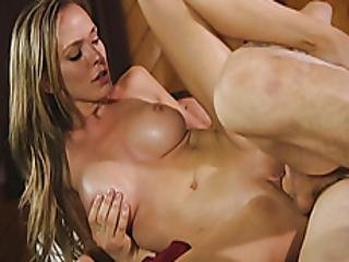 Busty Masseuse Drilled By Horny Client