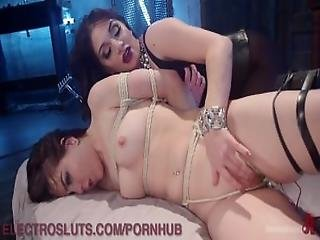 Electric Pussy Licking And Torment
