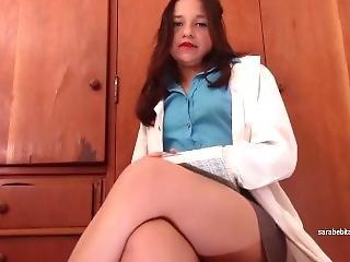 amatør, doktor, onanering, sexy, solo, Tenåring